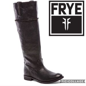 NWT Frye Shirley Artisan Tall Boot {Black} 8.5